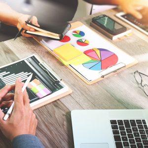 Marketing e comunicazione, visual graphic